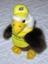 USPS Pro Cycling Team Tour de France Yellow Jersey Bald Eagle Stuffed Beanie Toy