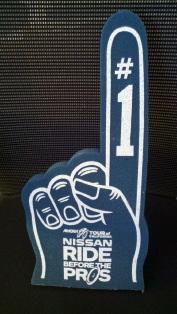 Amgen Tour of California Wearable #1 Foam Finger