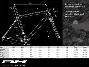 BH G5 Carbon Fiber Bicycle Frameset 2012 56cm MED Black Blue White Frame Fork!13
