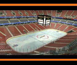 Honda Center - View from Section 439 for Anaheim Ducks Hockey Games - Ponda Arrowhead Pond