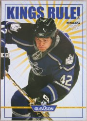 "Tim Gleason #42 Los Angeles ""Kings Rule!"" Promo Poster"