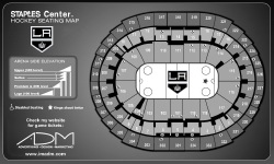 Staples Center - Seating Chart for L.A. Kings Hockey Games