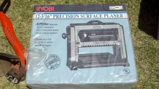 Ryobi 12 5/16 x 6 Precision Surface Planer AP12 Woodworking Easy Blade Change1